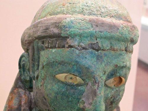 fast 3.000 Jahre alt ist dieser Blick