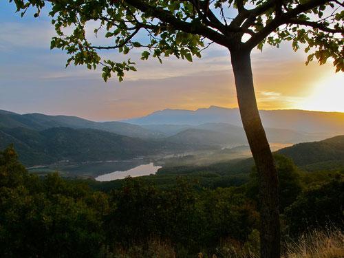 erster griechischer Sonnenaufgang - über Kaipake