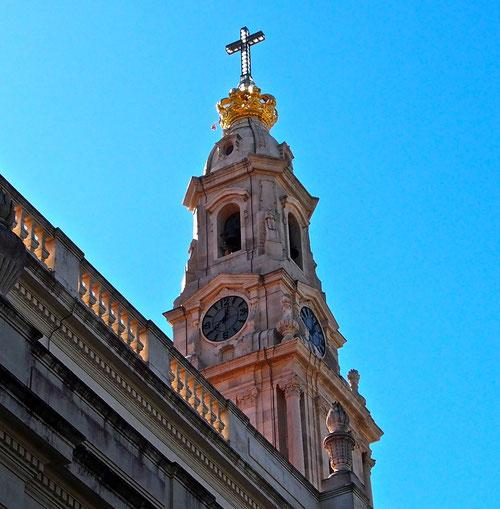 die alte Barock-Basilika