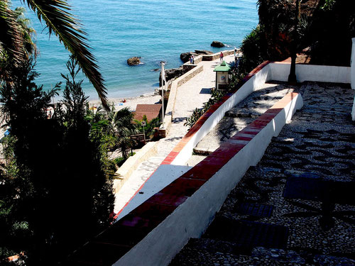 eine Strand-Stimmung wie in Capri