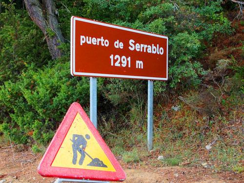 Passhöhe Serrablo