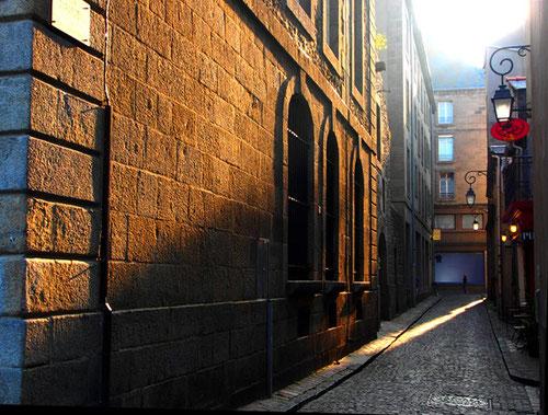 stimmungsvolles Licht in der Altstadt