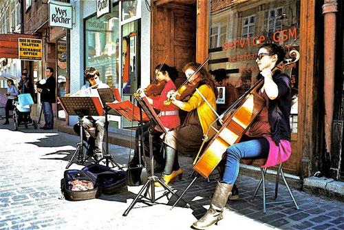 Kronstadt - berühmt durch ihre zwei Musik-Akademien