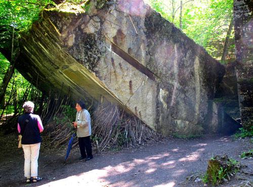 mächtige Bunker-Trümmer