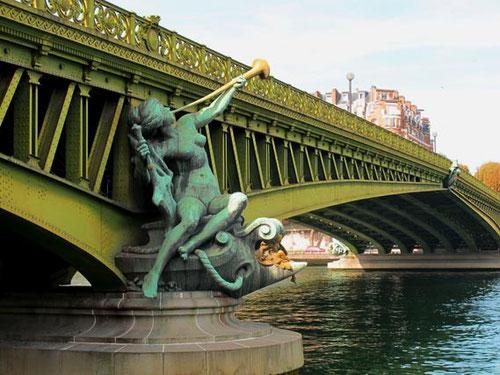 die historische Brücke - Pont de Grenelle