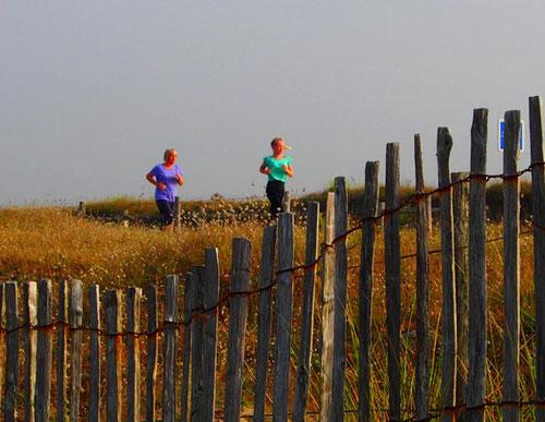 die Jogger - ehrgeizig wie überall auf der Welt