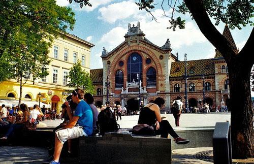 grosse Gedränge am Hauptbahnhof