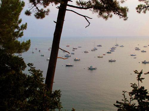 Blick auf die Bucht von Grouin