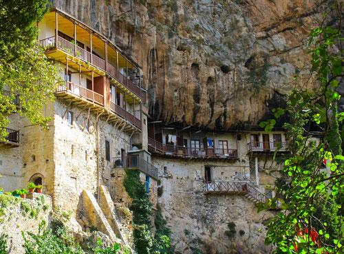 das Kloster Moni Agiou Ioannou Prodromou