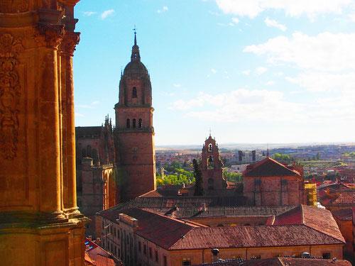 Blick über das alte Salamanca