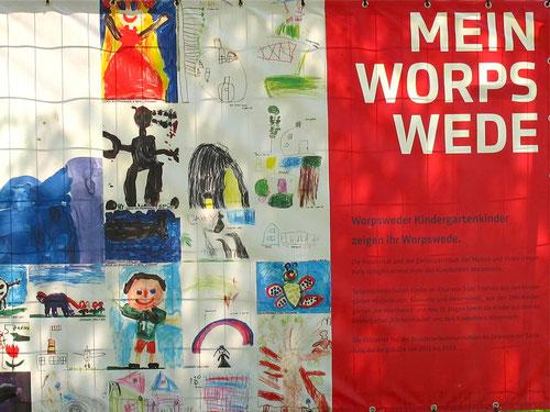 Ausstellungs-Plakat Worswede