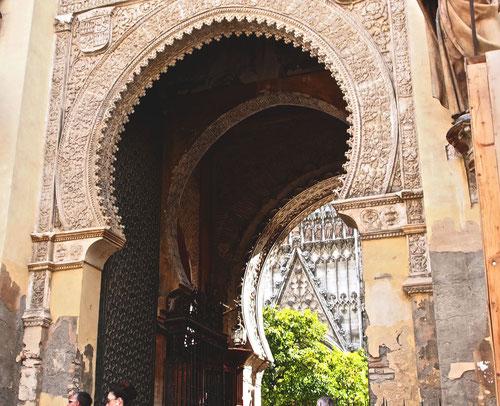 maurisches Eingangstor zur Kathedrale