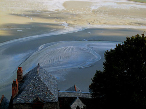 Mont-Saint-Michel - eine eine Oase des Friedens - inmitten des Ärmel-Kanals