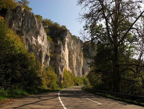 entlang des Donau-Durchbruchs - durch die Schwäbische Alb - herrliche Wanderwege