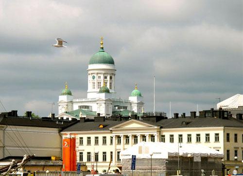 Katharinnen-Kirche - Wahrzeichen von Helsinki
