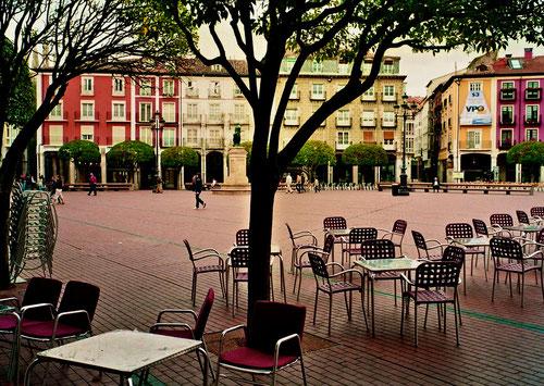das Zentrum von Burgos - die Plaza