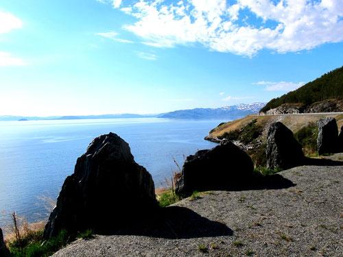 beeindruckende Küstenbilder