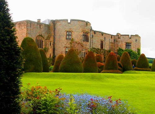 die Ost-Fassade des Schlosses