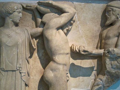 Apollon im Kampf gegen die Zentauren