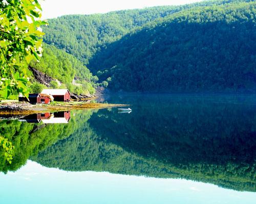 spiegelglatte Seen
