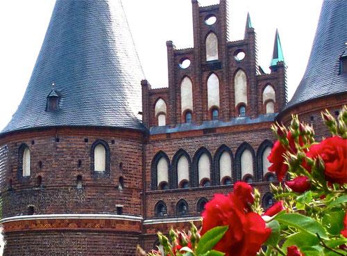 das Holstein Tor aus der Hanse-Zeit