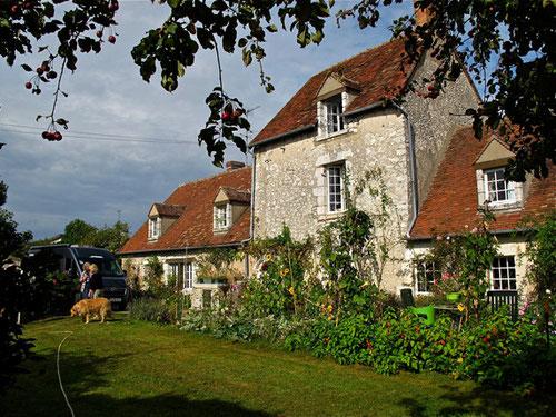 das Haus von Uli und Bernard in Chaingy bei Orleans