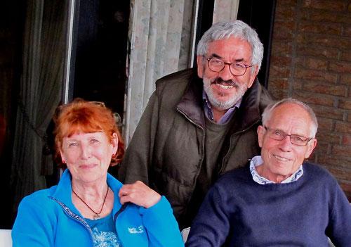 Marlen, Claus und Uwe