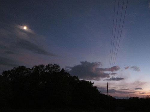 traumhafte Vollmond-Nacht