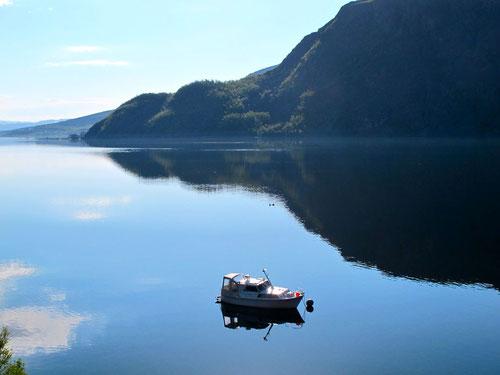 Morgenlicht am Altafjorden