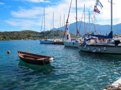 das touristische Angebot in der Bucht von Sofico war vielfältig und exclusiv