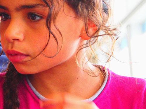 die kleine Miriam (11) sprach französisch, englisch und arabisch
