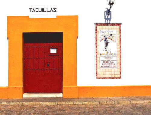 Eingang zur historischen Corrida