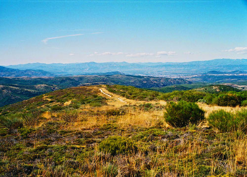 der Blick hinunter nach Ponferrada