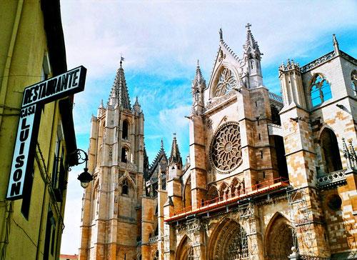 Leon ein Juwel gotischer Baukunst