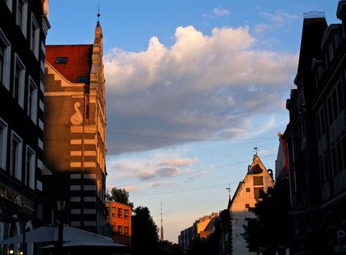 Abendstimmung in Riga - fast wie ein niederländisches Genre-Gemälde...