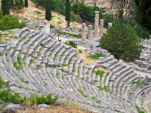 das Theater von Delphi