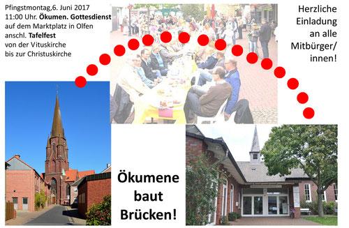 Ökumene baut Brücken - Tafelfest