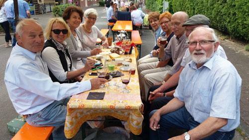 Ein Tisch des Heimatvereins - Foto: HPD