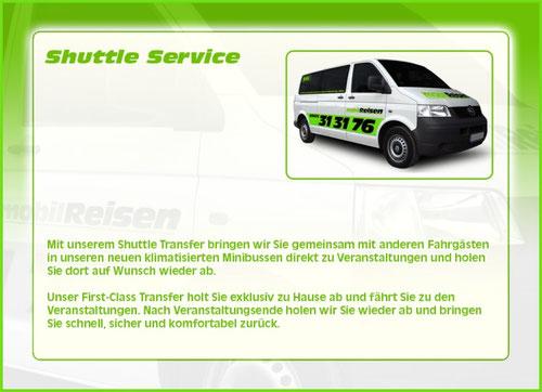 Shuttel Service, Sammeltaxi, Gruppentaxi