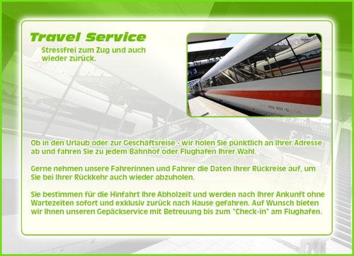 Travel und Zubringer Service, Taxi