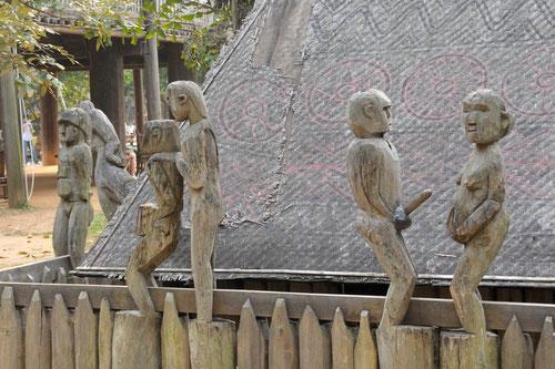 Statues funéraires Jörais