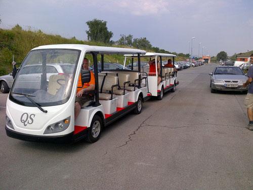 Elektro shuttle bus, MA48, Wien