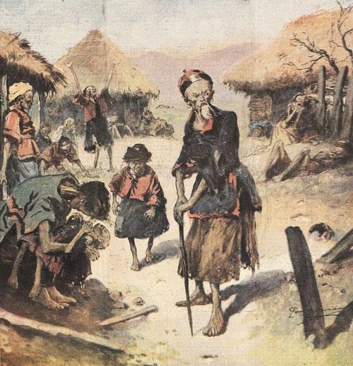 10 avril 1921. Famine 2. Le Petit Journal, Supplément illustré, et la Chine  1890-1913, 1921-1931.