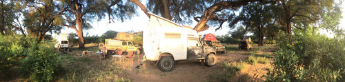 Unser Camp im Samburu National Reserve.