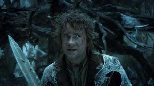 Bilbon le Hobbit (Martin Freeman) devient plus courageux (©MGM/Warner)