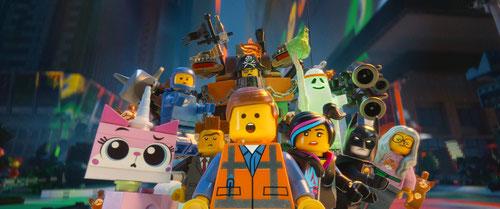 Emmet et ses copains: ''et s'il le faut j'emploierai des moyens Lego'' (©Warner)