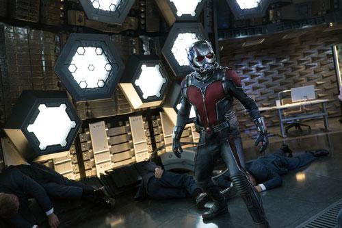 Ant-Man, l'homme-fourmi, nouveau héros Marvel au cinéma (©Mavel/Walt Disney).