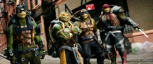 Les Tortues Ninja sont de retour, un an et demi après leurs dernières aventures (©Paramount Pictures).