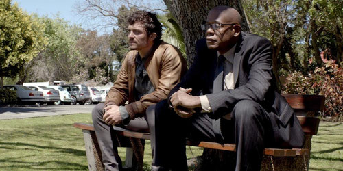 Orlando Bloom et Forest Whitaker (©Eskwad/Pathé Distribution)