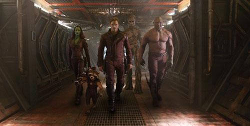 Les cinq sauveurs de la galaxie, ce sont eux (©The Walt Disney Company)